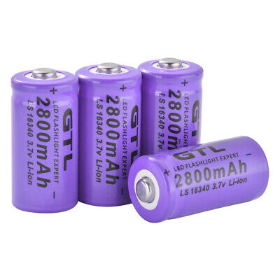 4Pcs 3.7V Rechargeable GTL 2800mAh Battery for Remote Controller Toys BC980