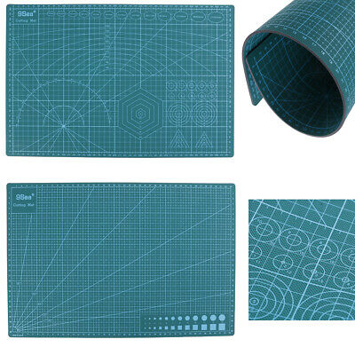 A3 PVC Self Healing Cutting Mat Double-sided Fabric Leather Paper Craft Tool ~GN