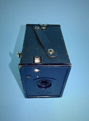 Early 1930s Agfa Box 44 camera with rare blue casing in good condition