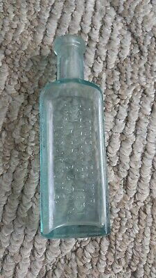 Antique DR. TRUE'S ELIXIR- FAMILY LAXATIVE -WORM EXPELLER Quack Medicine Bottle