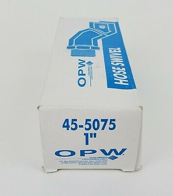 "OPW 45-5075 1"" Hose Swivel, NEW!"