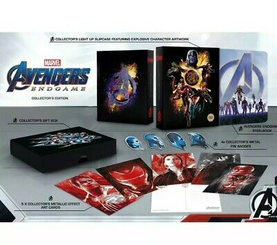 Avengers Endgame 3D Bly-Ray (2D Included) Collectors Edition Steelbook LTD 1000