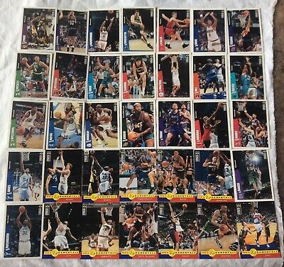 Lotto 36 NBA Cards Collector's Choice Upper Deck 1996 Tutte Diverse