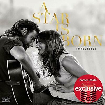 A Star Is Born (Target Exclusive Edition), LADY GAGA & BRADLEY COOPER, New CD