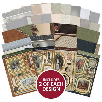 Hunkydory - Horse & Country - Luxury Card Collection - FREE 1st Class Post