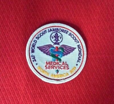2019 - Medical Staff Patch 24th World Scout Jamboree