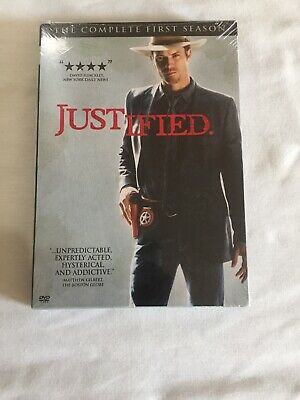 Justified The Complete First Season DVD NEW Sealed