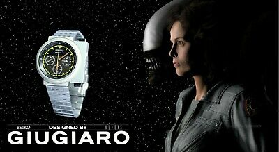 Seiko 'Ripley Aliens' X Guigaro Design Ltd Edition Sced035 Watch Now Sold Out
