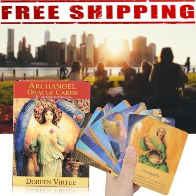 Magic Archangel Oracle Cards Earth Fate Tarot Card 45Card Deck Without Guidebook