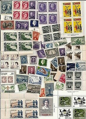 vintage MNH MINT UNUSED FULL GUM CANADA Canadian postage stamps lot Z89A