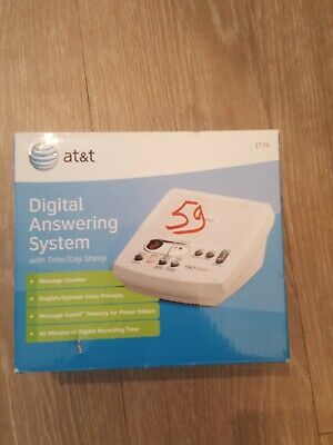 AT&T Digital Answering System 1739 Answer Machine New In Box Factory Sealed