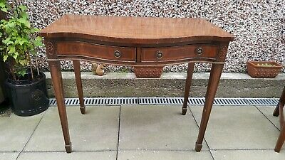 Vintage Mahogany Hall Occasional Console Table