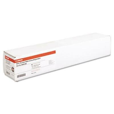 "Canon 0849V396 Water Resistant Matte Canvas Paper Roll, 24 Mil, 24"" X 40 Ft,"