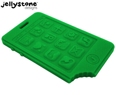 Jellystone Designs JChews Smartphone Teether - Green