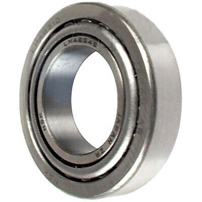 (1) Trailer Wheel Bearing Set LM67048 LM67010 1-1/4'' for 5000-6000 lb. Axles