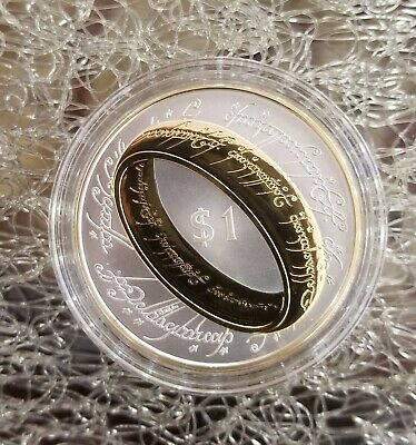 New Zealand 1 dollar Lord of The Rings silver coin