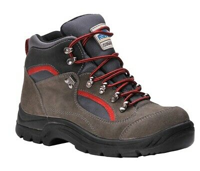 138 Grey Hiker Boots S3 Uk8 FW66GRR42 Portwest Genuine Top Quality Product New