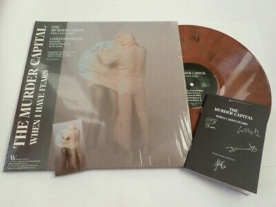 The Murder Capital - When I Have Fears - Marbled Vinyl Album & Signed Lyric Book