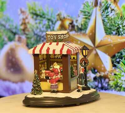 Santa's Toy Shop - Christmas Village