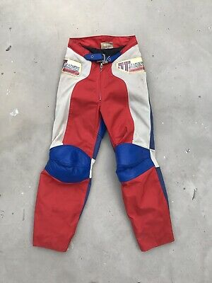 "TT Leathers Vintage Motocross Trousers Race Pants 26"" Waist Unworn NOS"