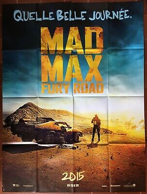 Affiche MAD MAX FURY ROAD George Miller TOM HARDY Charlize Theron 120x160 prév.