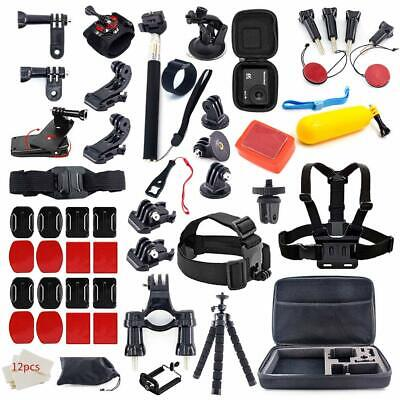 Action Camera Accessories Kit for GoPro Hero 7 6 5 4 3+ 3 2 1 GO PRO Session 5
