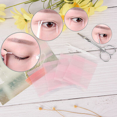208pc*Invisible double eyelid fibers eyes stickers super stretch fold`lift ta~GN