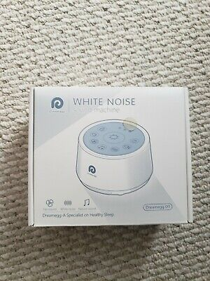DREAMEGG D1 WHITE Noise Sound Machine w/ Baby Soothing Night