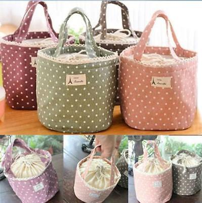 Cool Bag Portable Lunch Bags Insulated Tote Bag Thermal Cooler Food Picnic KS