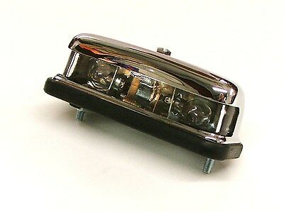 Austin Healey 100/4 100/6 & 3000 Chrome Number Plate Lamp