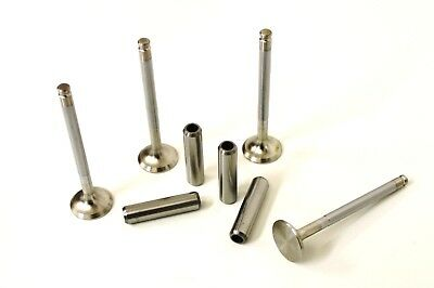 Set Of Exhaust Valves & Guides For The Triumph Dolomite 1300 & 1500 Models