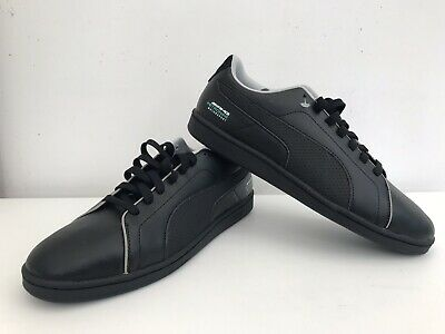 Genuine Mens Puma Mercedes Amg Petronas Motorsport Trainers Black Size Uk 10 New