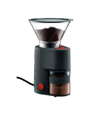 Bodum Bistro Electric Burr Coffee Grinder-Black - Used