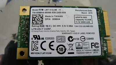 NEW DELL LITE-ON 512GB M 2 SATA Solid State Drive - CV8 SSD