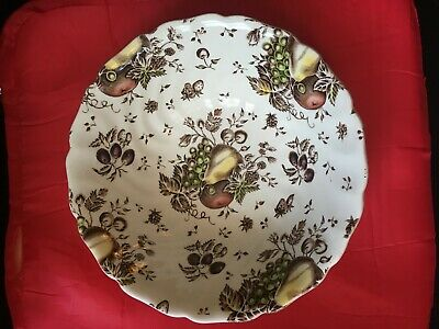 """Beautiful Johnson Bros. AUTUMN'S DELIGHT Made in England SERVING BOWL  8 1/2"""""""