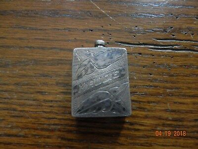 Sterling Silver Snuff Or Scent Bottle Maudie