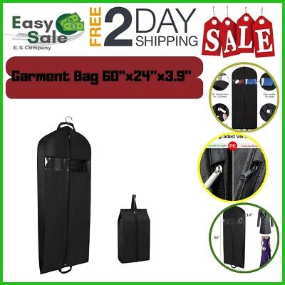 Ess Travel Garment Bag Suit Dress Adjustable Handle Weather Resistant Durable