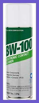 Nonflammable Electronic Contact Cleaner Aerosol Spray Hfos Quick Dry Upsid 8Oz.
