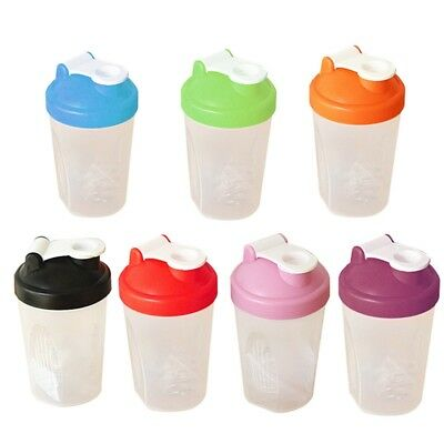 400ML Protein Shake Drink Mixing Shaker Cup Blender Mixer Diet Cup Usable Trendy