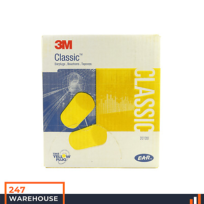 3M E-A-R™ Classic™ Uncorded Earplugs 200 Pairs 312-1201 NRR29 Class 4 Ear Plugs