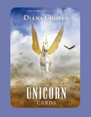 The Unicorn Cards by Diana Cooper 9781844091447 | Brand New | Free UK Shipping