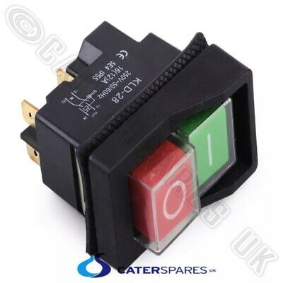 Dough Roller Stop / Start On Off Switch Green Red Button Kjd17 Replacement