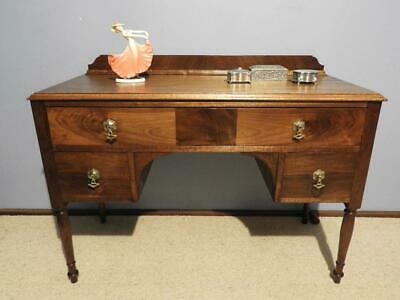 Vintage Art Deco French Provincial Desk Hall Table Dresser Sideboard Tv Stand