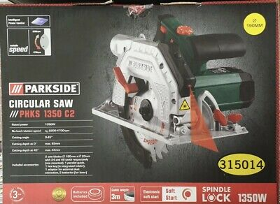 Circular Saw 1350W Parkside 190mm 240v GERMAN - Brand New