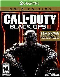 ** BRAND NEW - Call of Duty: Black Ops III - Gold Edition (Microsoft Xbox One)**