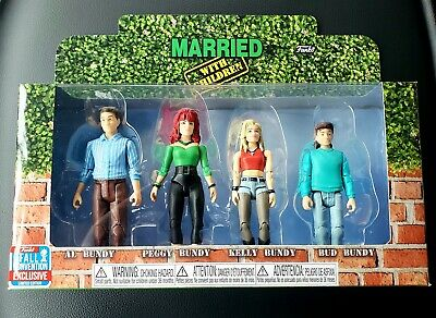 Funko Married With Children 4 Pack Fall Convention Exclusive Action Figures