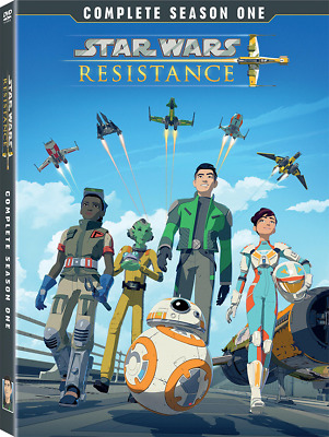 STAR WARS RESISTANCE: Season 1 [DVD] New!! All 21 episodes!  (Free shipping)