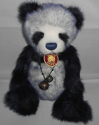 Charlie Bears TIFFY Panda ~ SECRET COLLECTION QVC Exclusive 2010 ~ Isabelle Lee