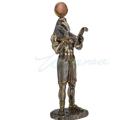 Egyptian Thoth God of Knowledge Statue Figurine Sculpture - HOME DECOR