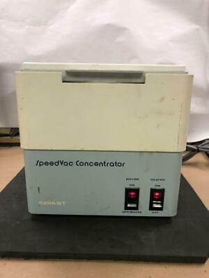 Savant Speedvac Concentrator WORKS WELL SVC-100H with ROTOR